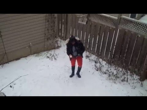 Reena's snowy day out
