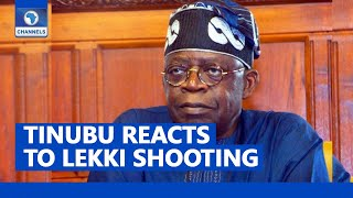 FULL INTERVIEW: Bola Tinubu Reacts To Shooting Of Protesters At Lekki Toll Gate