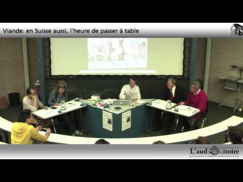 Viande moderne: en Suisse aussi, l'heure de passer à table