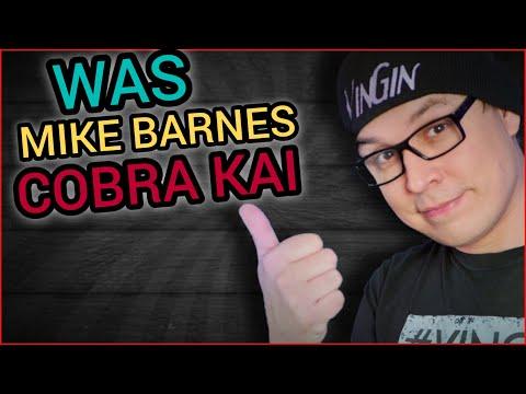 Was Mike Barnes Cobra Kai?