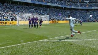 FIFA 15 Direct Rabona Free Kick Tutorial ITA ft. Cristiano Ronaldo  Xbox & Playstation
