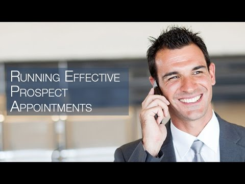 "Sales Training Sacramento CA - ""Running Effective Prospect Appointments"""