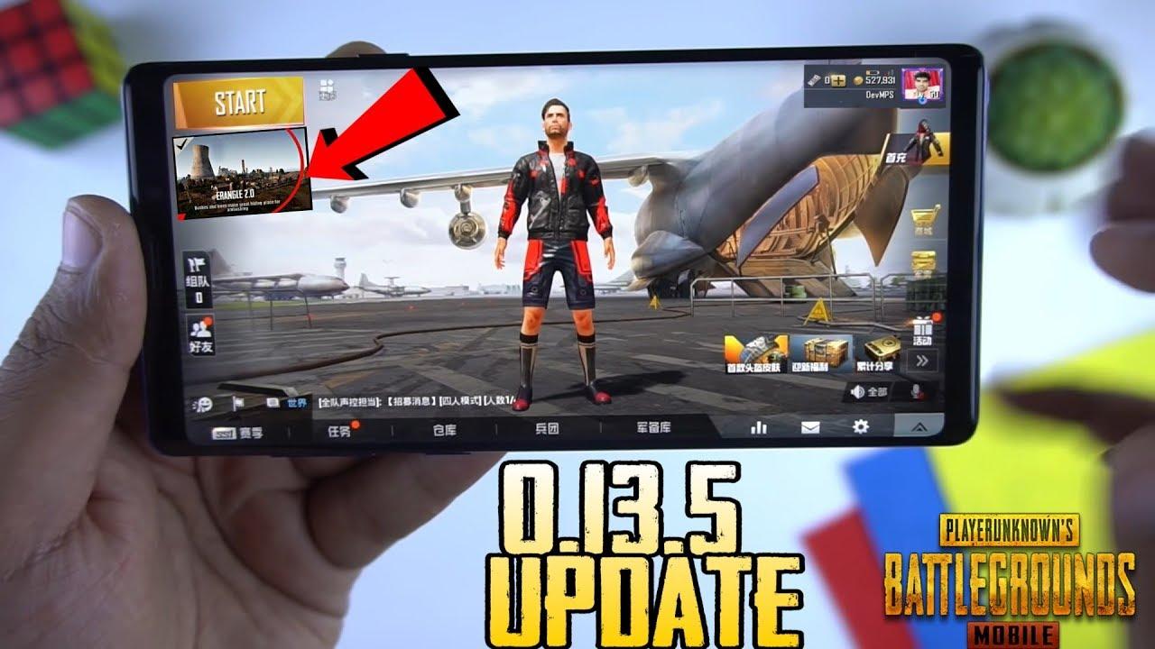 Pubg Mobile 0 13 5 Update Leaks With Release Date Erangel 2 0