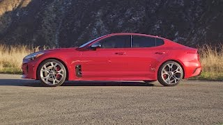 Kia Stinger 2018 - New Fastback Sports Sedan - Footage