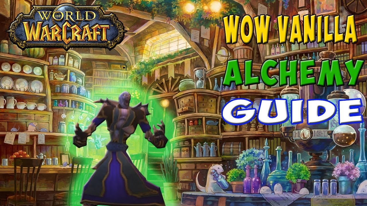 Wow vanilla ultimate alchemy guide youtube for Cuisinier wow guide