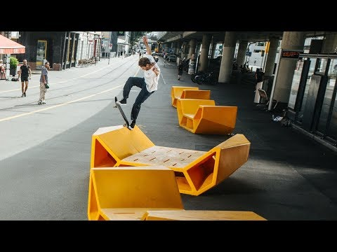 HUF x Spitfire Europe Tour Video