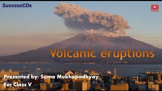 Volcano CBSE Class V Social Science Lesson Explanation