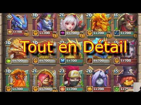Mon Autel Des Héros, Talents, équipements, Attributs - Castle Clash