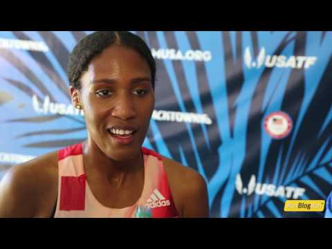 Ajee' Wilson @ 2016 USA Olympic Trials (day 2)