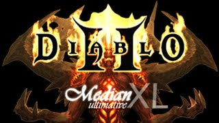 Diablo II - Mod Median XL - [NECROMANCER] Probando builds!