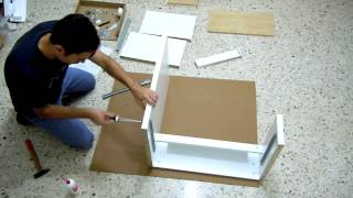 how to assembly micke desk and torbjorn chair ikea