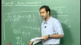Mod-01 Lec-28 Shooting method for fully developed heat transfer and thermal entry length problem