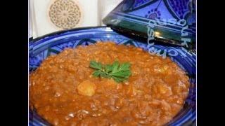 Recette de lentilles à la marocaine-Le3dess العدس/Easy Moroccan lentils Recipe