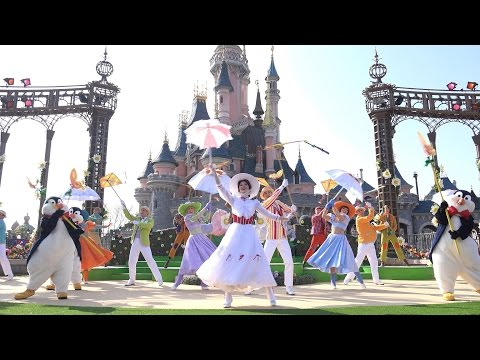 4K Welcome to Spring 2015 Disneyland Paris Mary Poppins