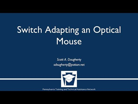Switch Adapting an Optical Mouse