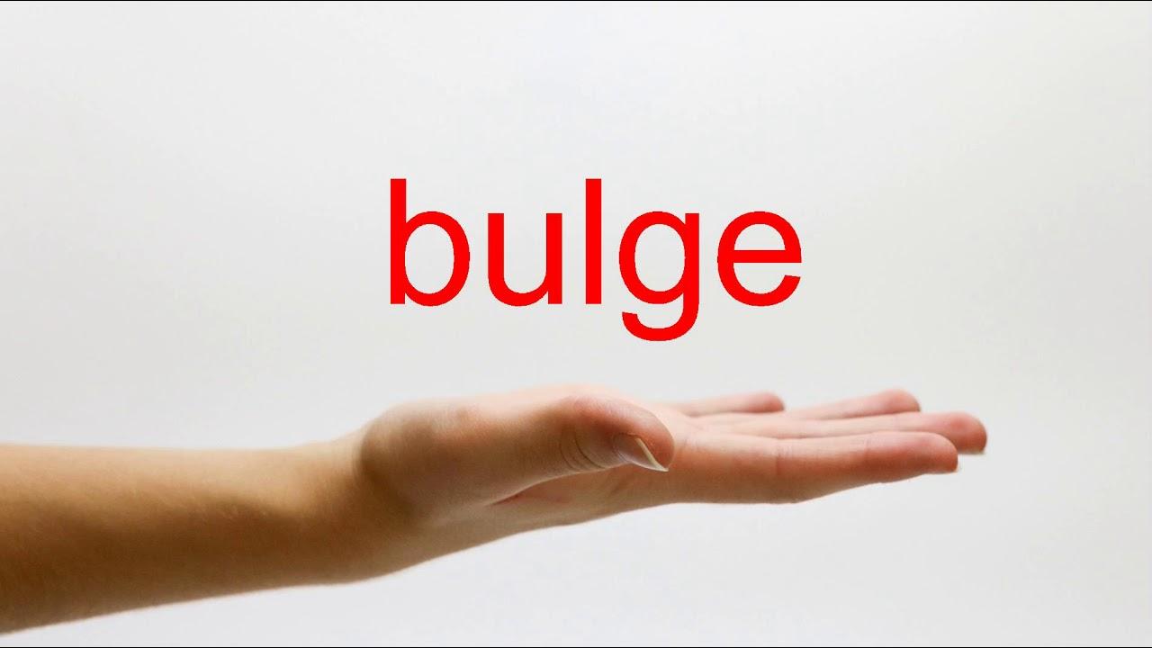 How to Pronounce bulge - American English - YouTube