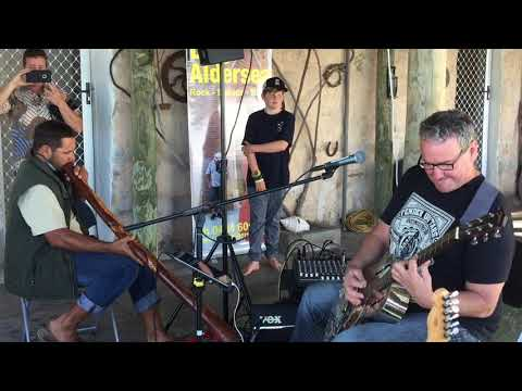 Jam at Dirk Hartog Island Gourmet Escape - Tell Me by Howlin' Wolf