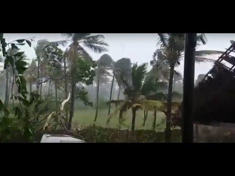 TROPICAL CYCLONE DINEO APPROACHING MOZAMBIQUE
