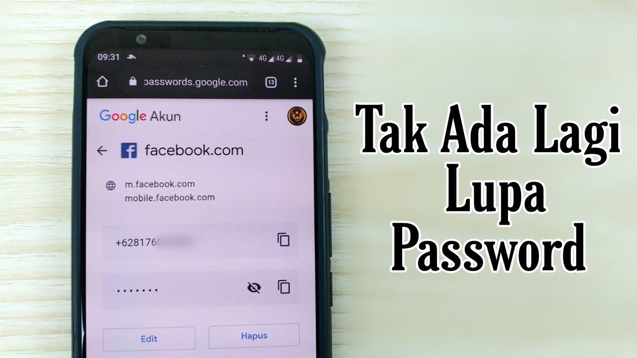 Cara Mengetahui Semua Password Yang Tersimpan Di Akun Google Kita Youtube