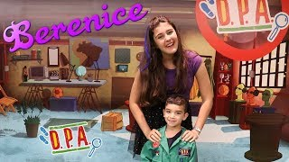 Berenice e Lucas se encontraram no shopping | Detetives do Prédio Azul | DPA o filme | capa roxa
