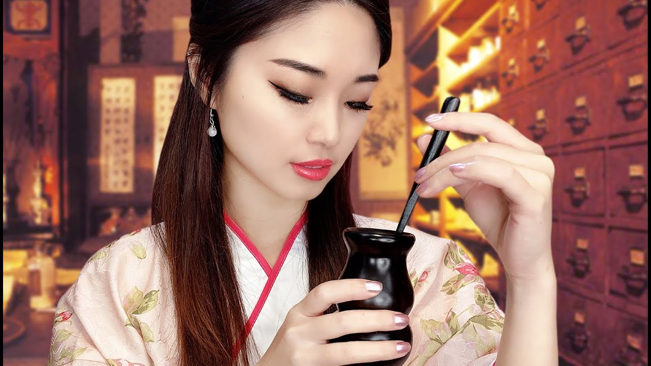 [ASMR] Chinese Herbal Shop