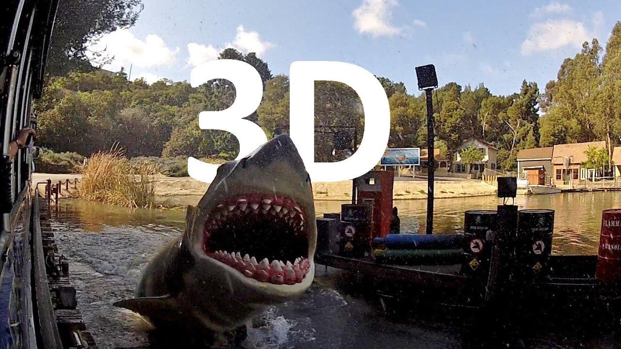 Jaws! (3D) Universal Studios Hollywood Studio Tour - YouTube