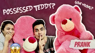 POSSESSED TEDDY BEAR PRANK🧸|Must watch video👻| @Gujju Unicorn