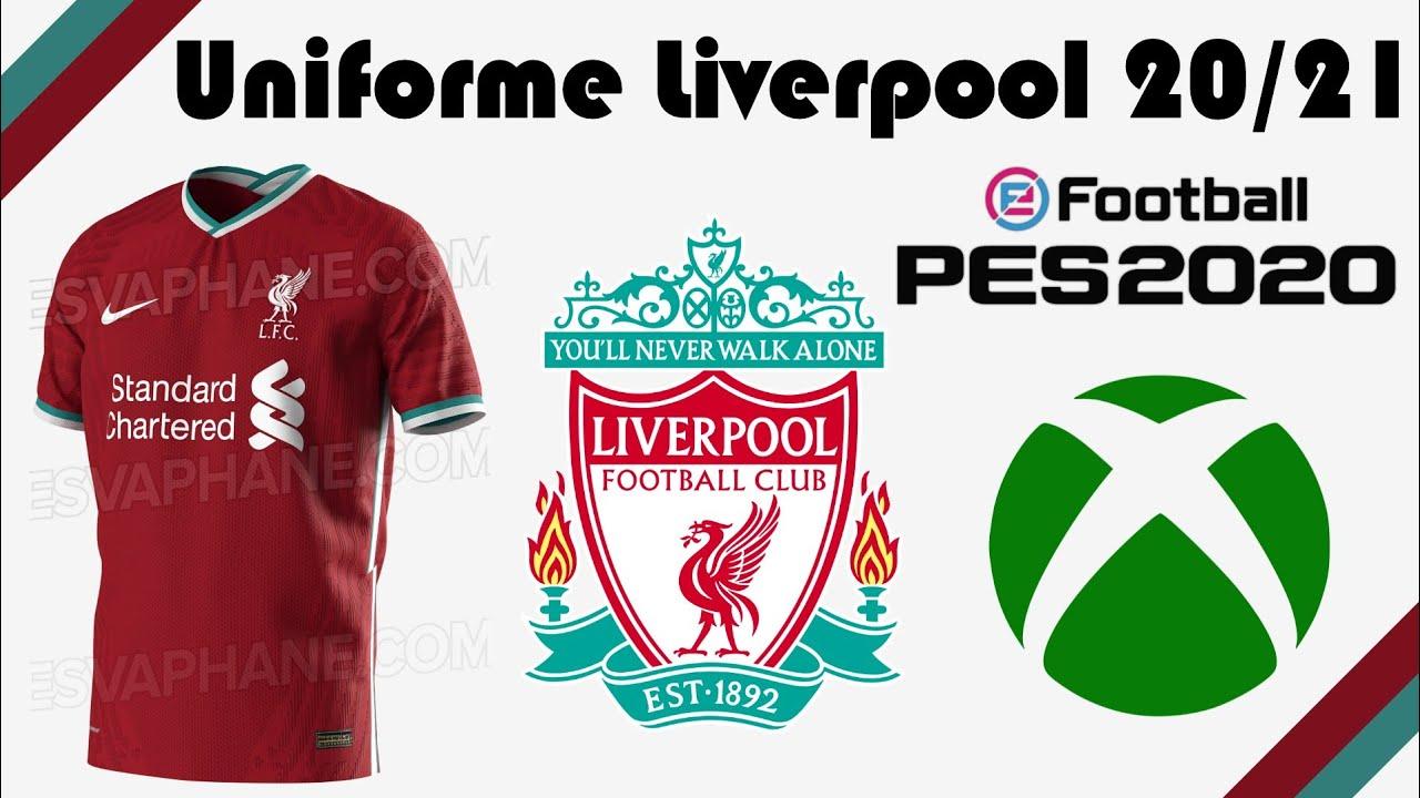 Como Criar O Uniforme Do Liverpool 20 21 Casa Pes 2020 Youtube