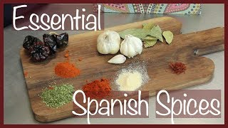7 Essential Spanish Spices // The Spicy Kitchen