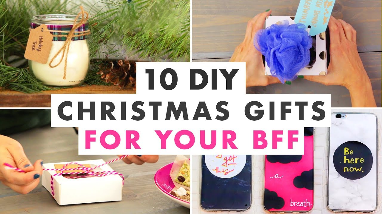 10 Christmas Gifts To Make For Your Best Friend This