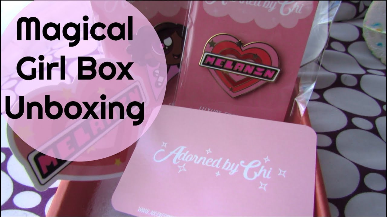Magical Girl Box For June Unboxing from AdornedByChi
