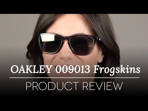 7df2acccb18 Oakley Frogskins OO9013 03-291 Sunglasses Review - YouTube