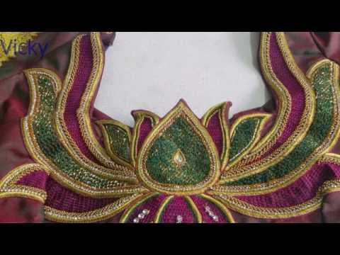 Designer Blouse Cutting And Stitching In Telugu Models Vicky M