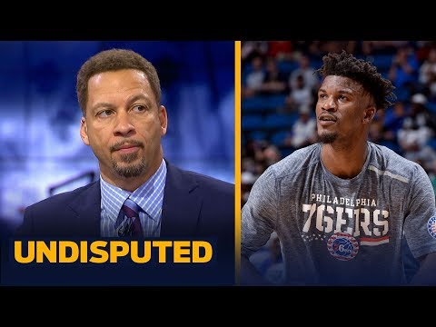 Chris Broussard reacts to Jimmy Butler's debut with the 76ers | NBA | UNDISPUTED