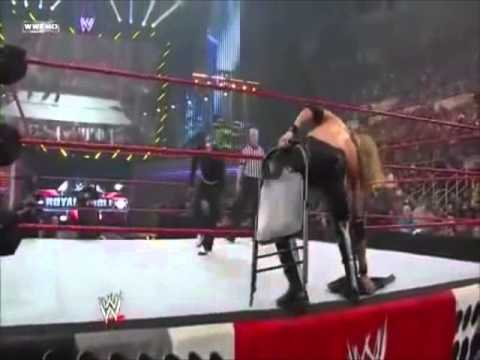 Jeff Hardy vs. Edge WWE Championship Royal Rumble 2009 ...