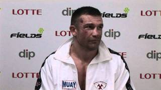 Peter Aertss Post-Fight interview of FieLDS K-1 WORLD GP 2010 IN SE...
