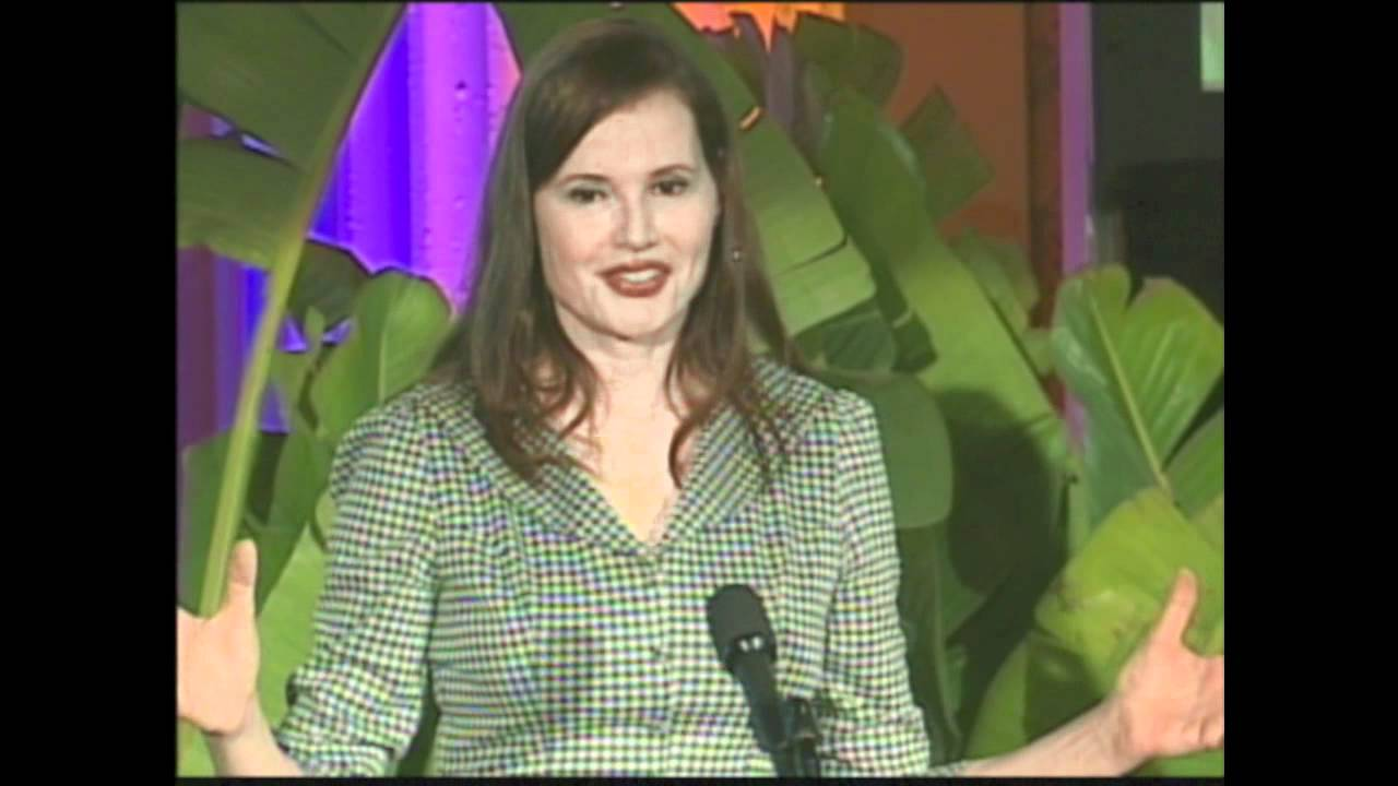 Geena Davis, Part 3 of 3, Closing Keynote - Reshaping the Media ...