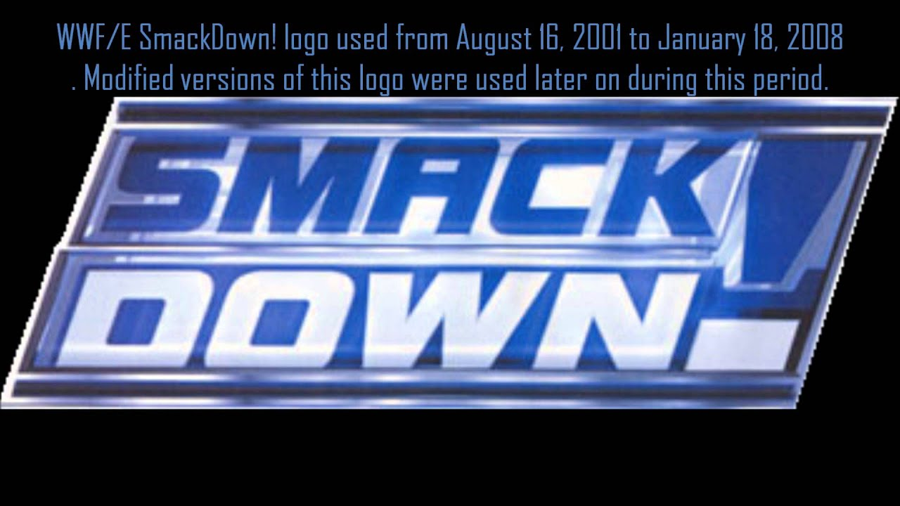 History Of WWF/E Smackdown Logo - YouTube