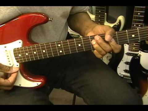 Blues Shuffle Strumming Tutorial #2 Lesson Stevie Ray Vaughan Texas Style EricBlackmonGuitar