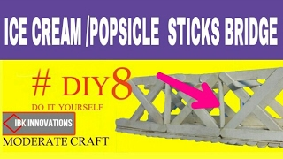 Share, Support, Subscribe!!! MATERIALS USED: 1. Ice cream sticks 2. Glue 3. Scale 4. Scissor 5. Clamps 6. Pencil In this video we
