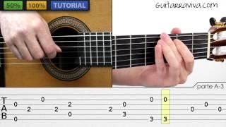 Yesterday guitarra Fingerpicking Fácil con Tabs (clase en la descripción)  fingerstyle GUITAR