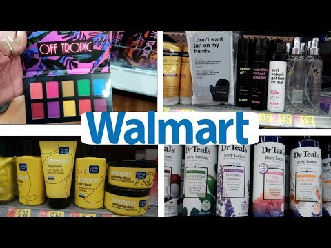 WALMART * BROWSING MAKEUP & BEAUTY SECTION