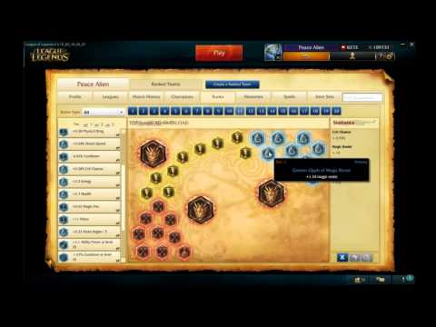 Riven Runes/Masteries S5 - YouTube