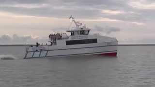 Catamaran passenger ferry RUNO Pärnu-Ruhnu-Pärnu  Estonia