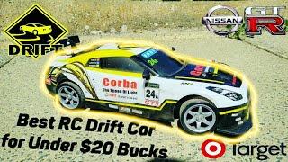 Best RC Drift Car For Under $20 Bucks Nissan GTR