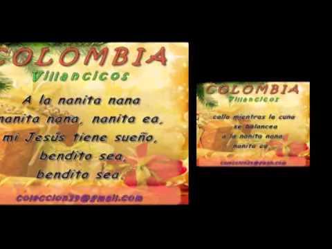 A LA NANITA NANA   Villancicos Colombia