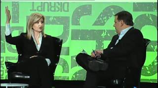 Michael Arrington interview with Arianna Huffington