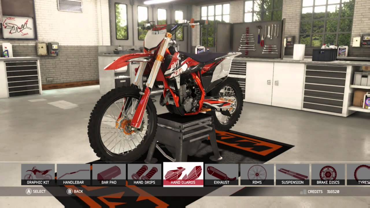 ktm sxf450 bike custumization mxgp 2 bike modding xbox. Black Bedroom Furniture Sets. Home Design Ideas