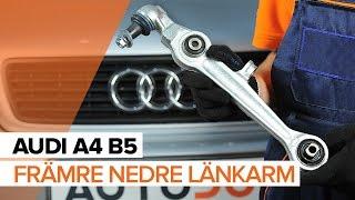 Videoguider och reparationsmanualer om AUDI A4 – håll din bil i toppform