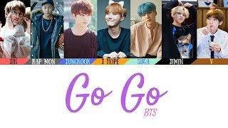 Bts (방탄소년단)   Go Go (고민보다 Go) Lyrics [color Coded Lyrics](han/rom/eng)(official Audio)